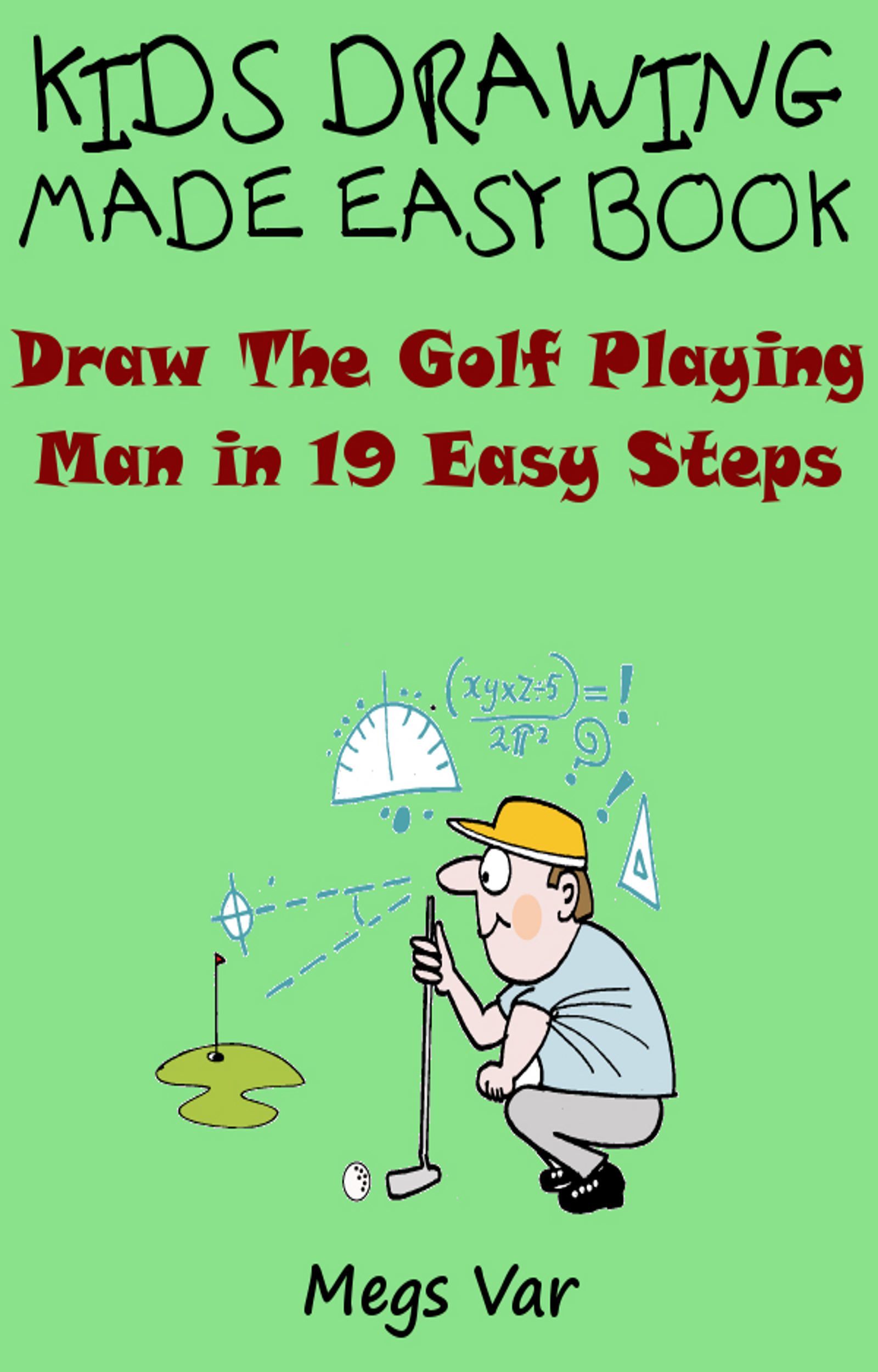 smashwords u2013 kids drawing made easy book draw the golf playing