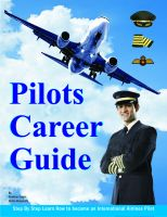 Cover for 'Pilot's  Career  Guide By Niriha Khajanchi'