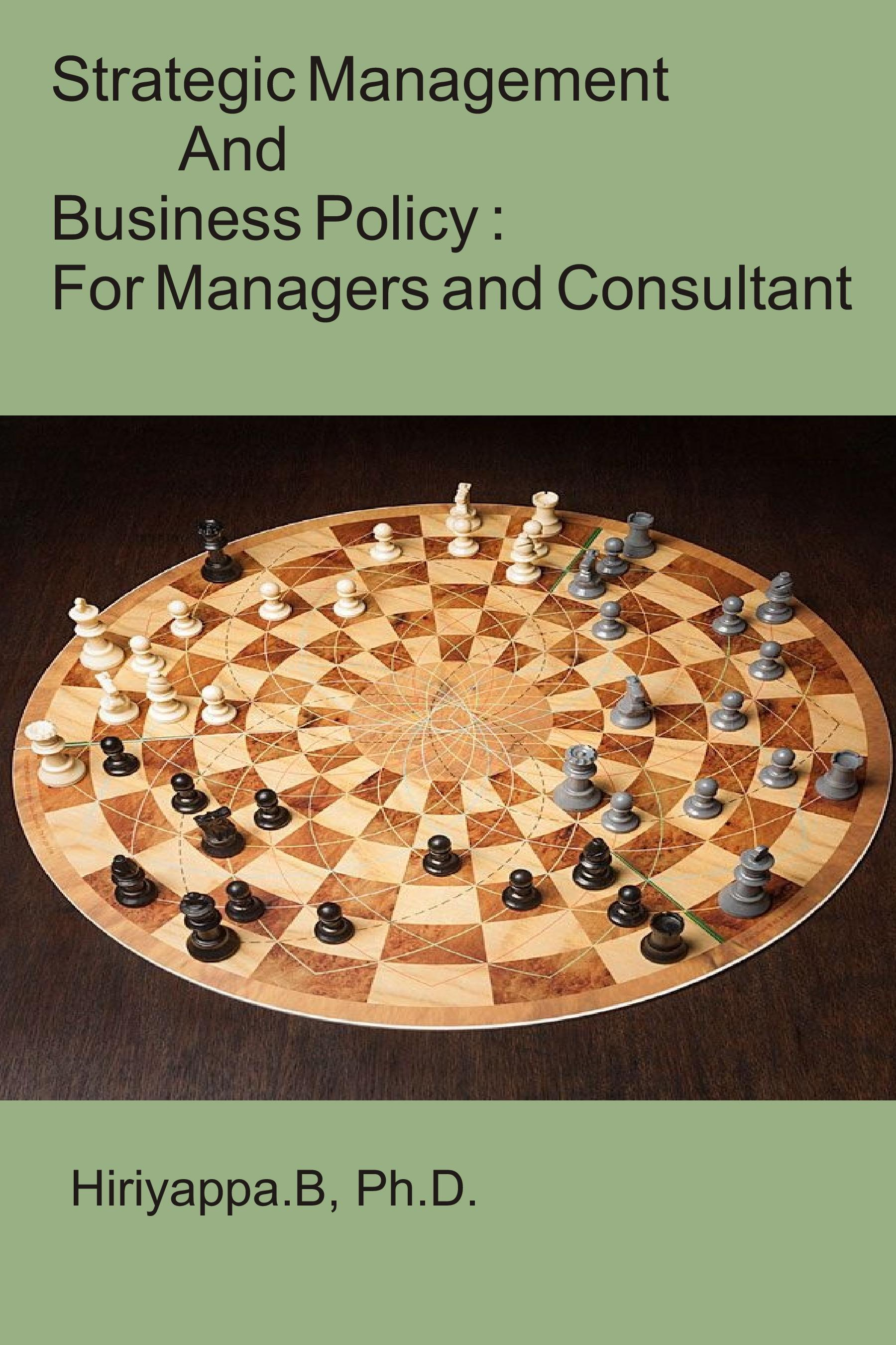 Smashwords Strategic Management And Business Policy For Managers