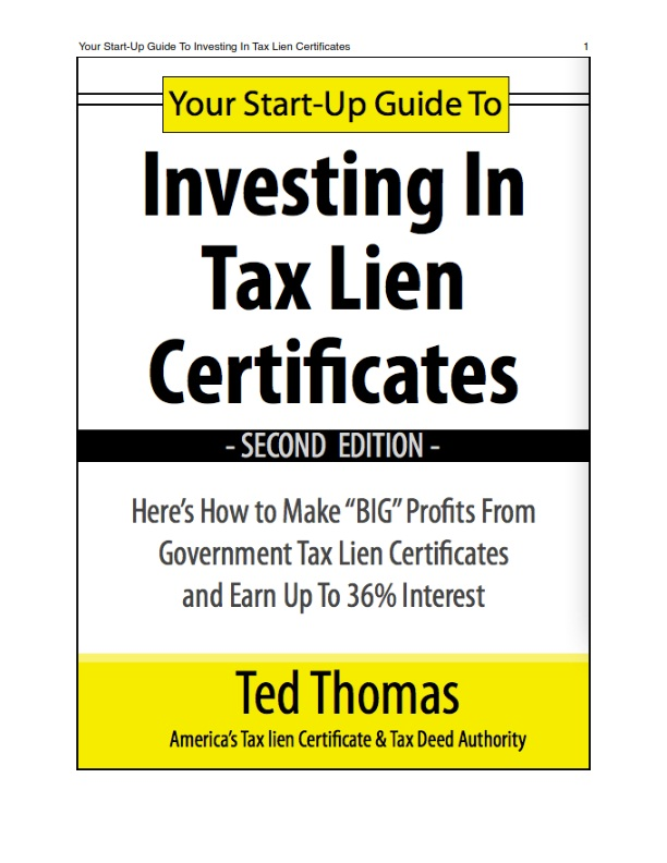 Smashwords The Startup Guide For Investing In Tax Lein