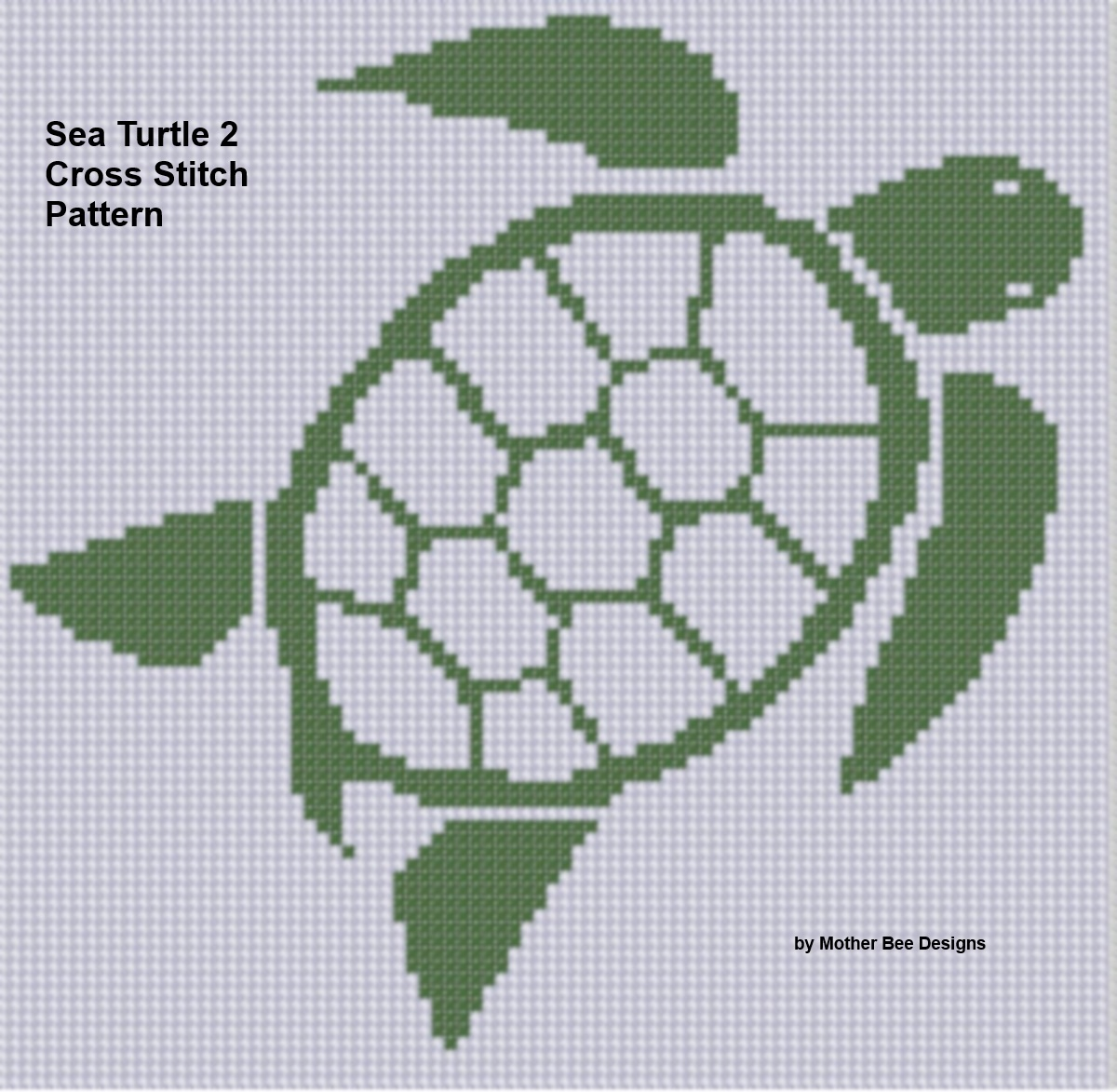 Smashwords Sea Turtle 2 Cross Stitch Pattern A Book By Mother