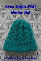 Tracy Zhang - Aran Simple Plait Winter Hat