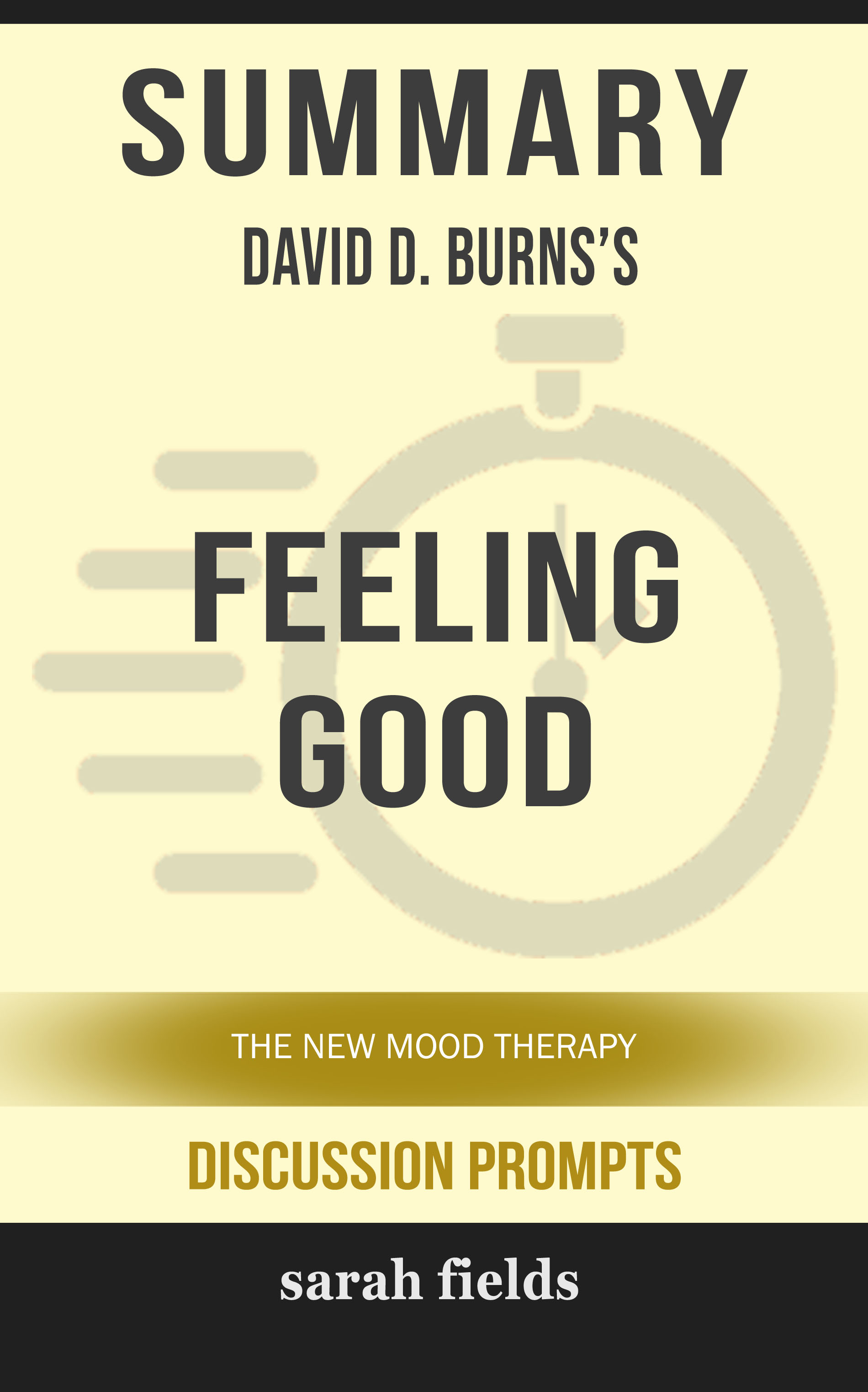 Feeling Good David Burns Ebook