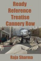 Cover for 'Ready Reference Treatise: Cannery Row'