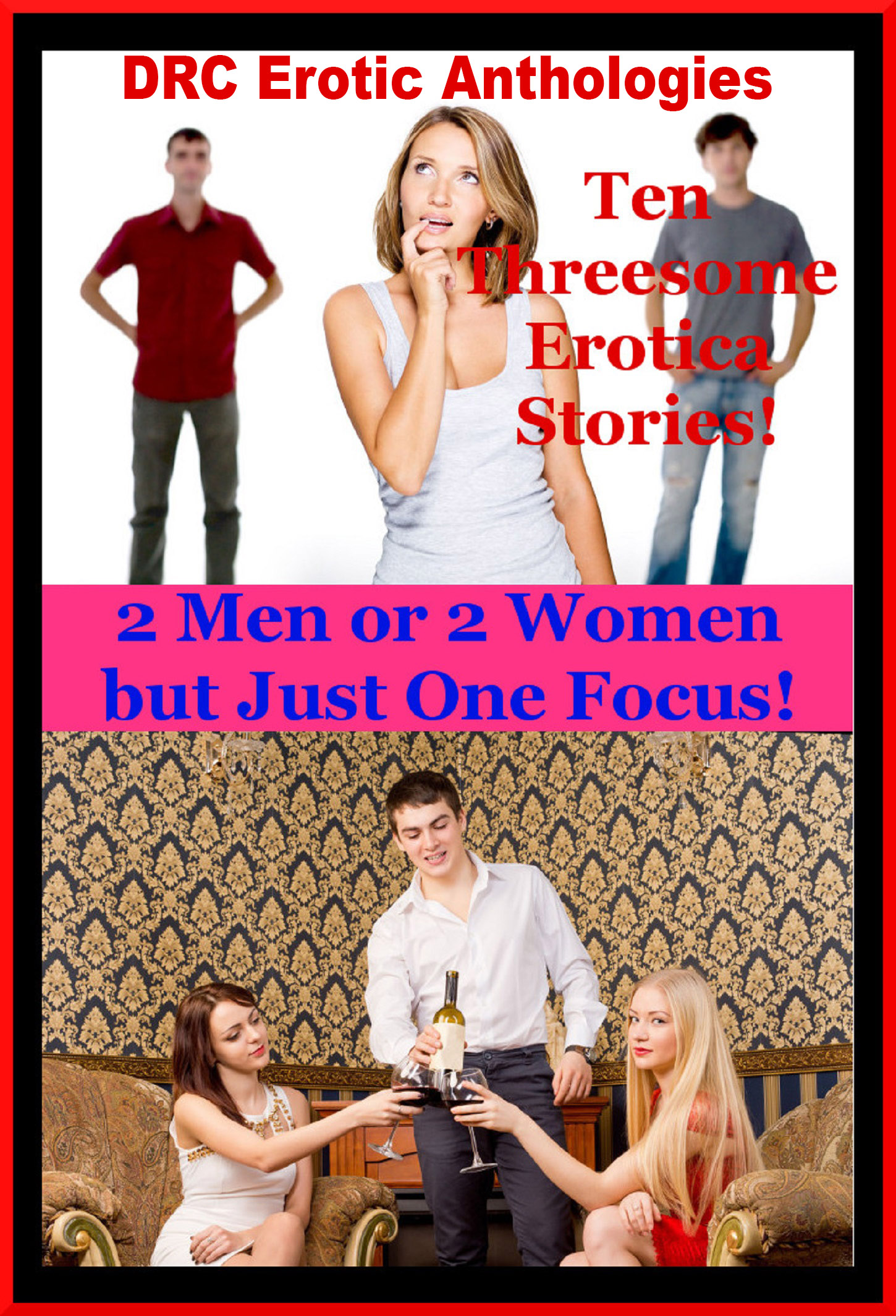 Two men one woman erotic story