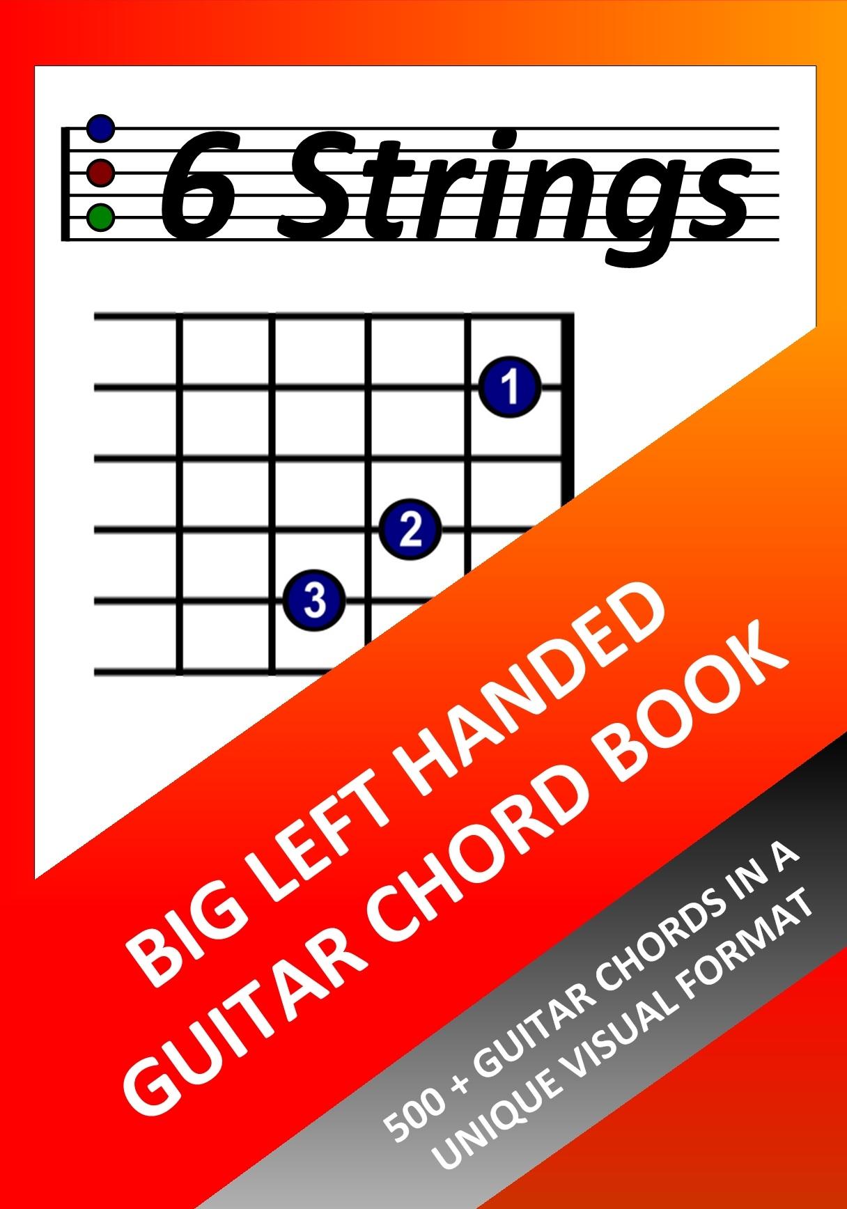 Smashwords Big Left Handed Guitar Chord Book 500 Guitar Chords