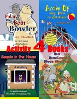 Karl Beckstrand - Four Activity Books: Fun & Learning for Families Vol. I