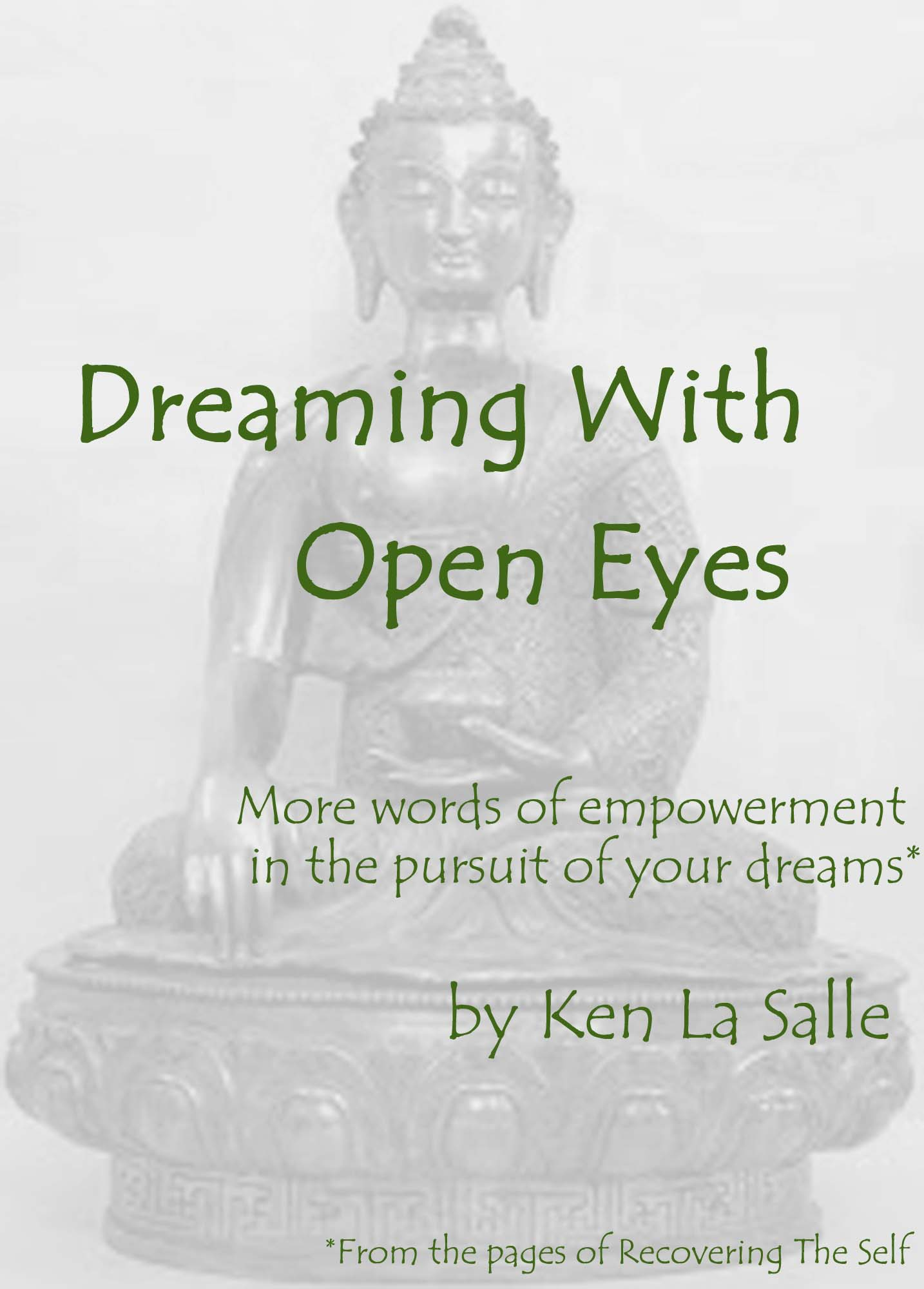 Dream With Your Eyes Open Epub