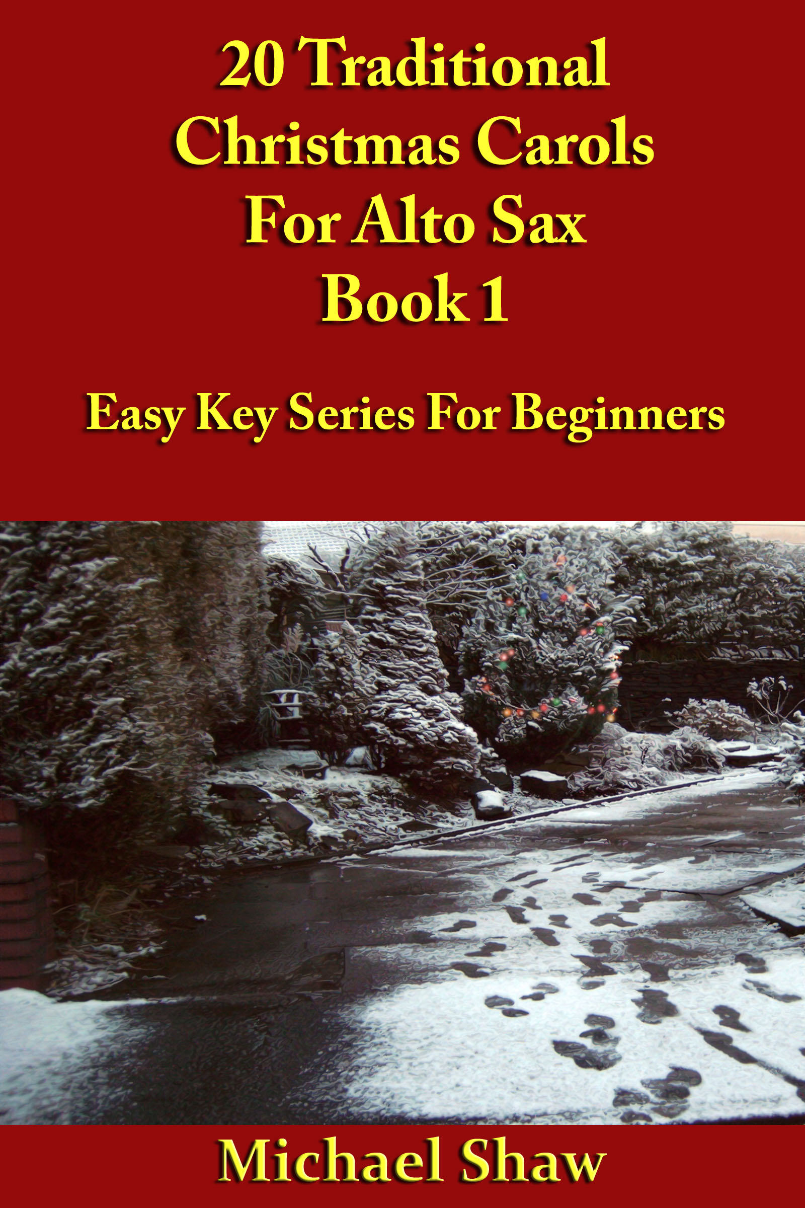 Traditional Christmas Music.20 Traditional Christmas Carols For Alto Sax Book 1 An Ebook By Michael Shaw