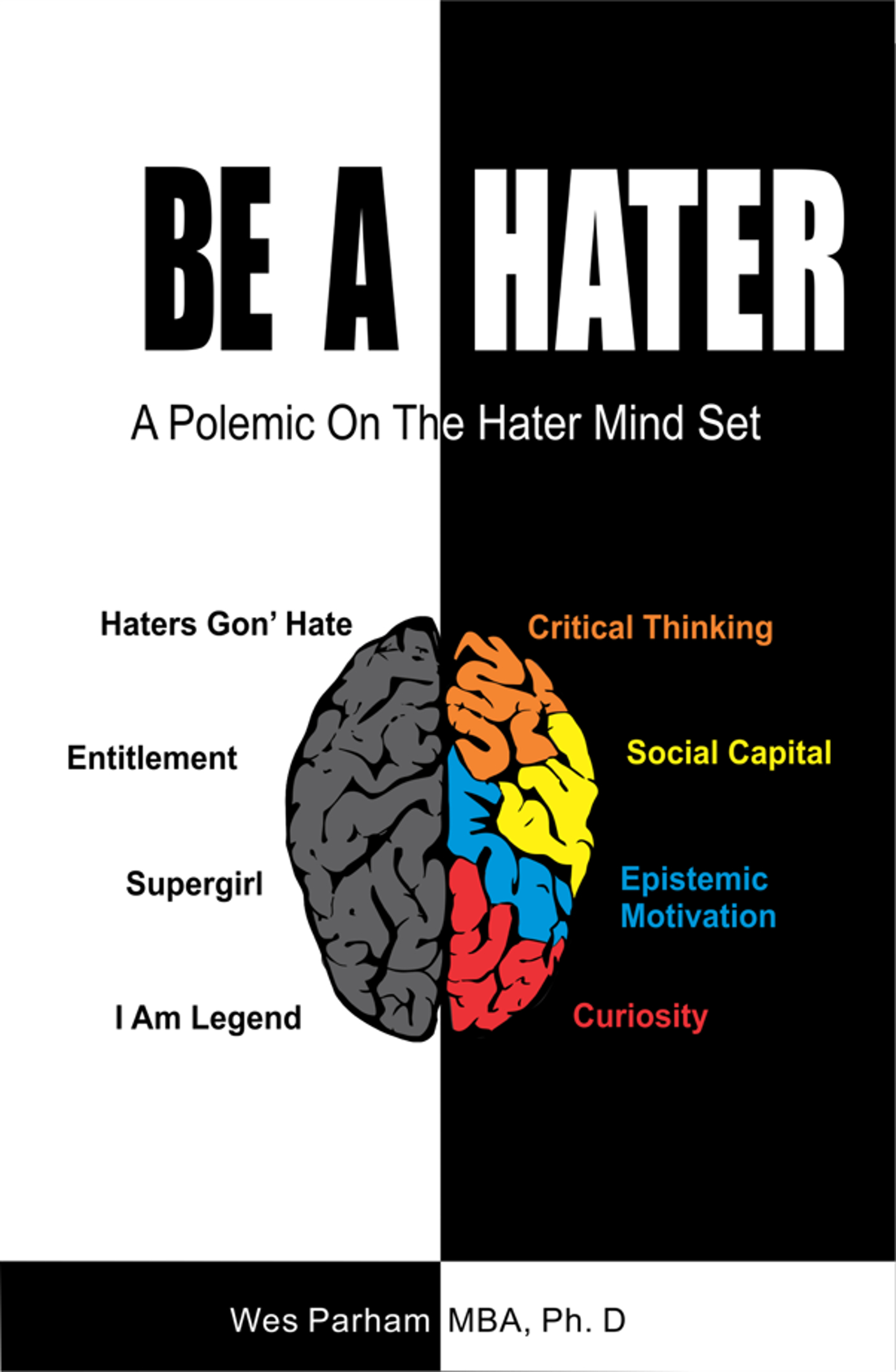 Be A Hater: A Polemic on the Hater Mindset, an Ebook by Wes Parham MBA Ph D