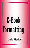 Linda Meckler - E-Book Formatting, Self-Publishing and Marketing Tips
