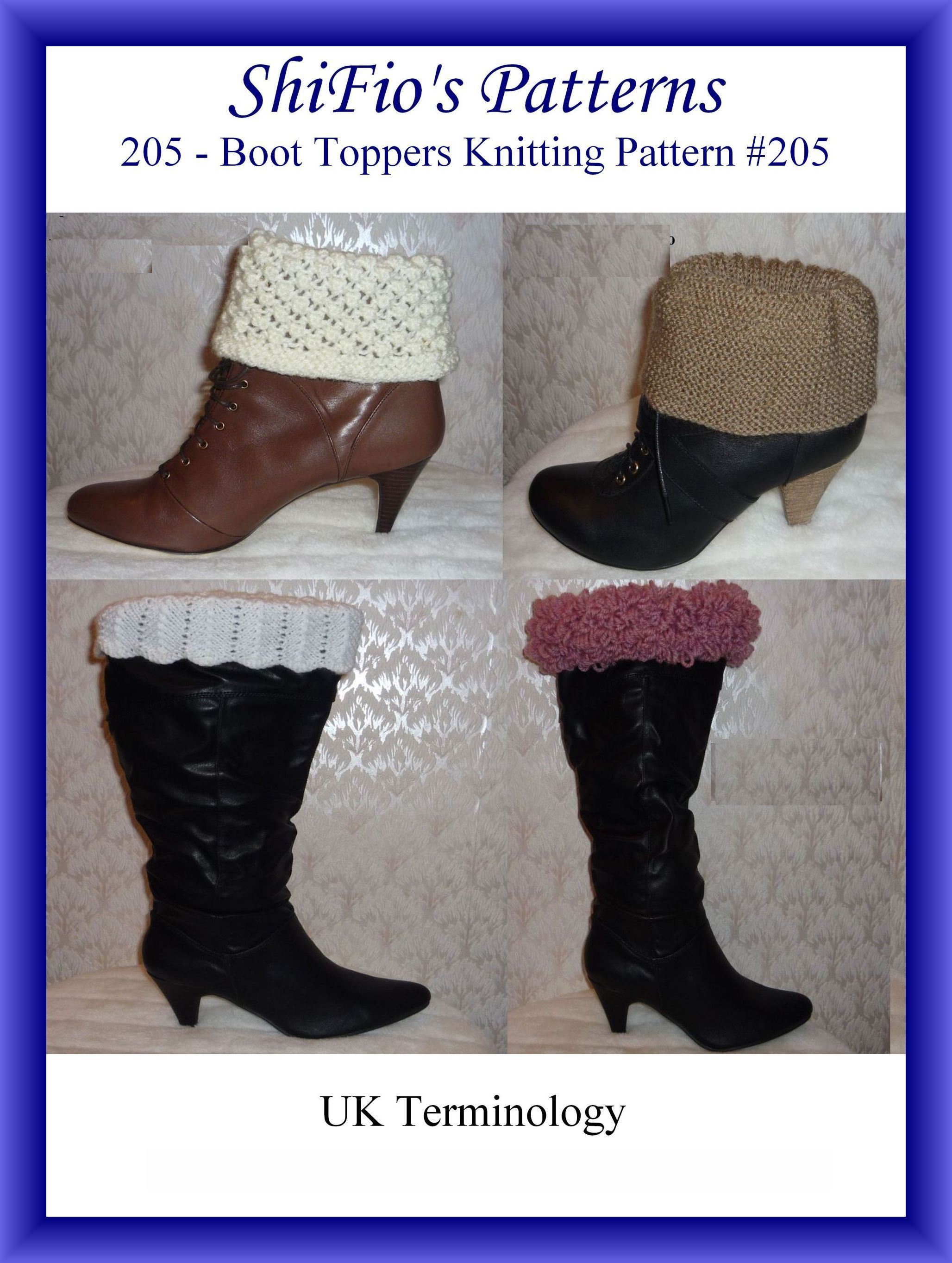 Smashwords – 205- Boot Toppers Crochet Patterns #205 – a book by ...