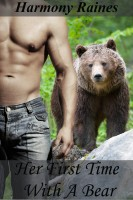 Harmony Raines - Her First Time With A Bear (BBW Shifter Romance)
