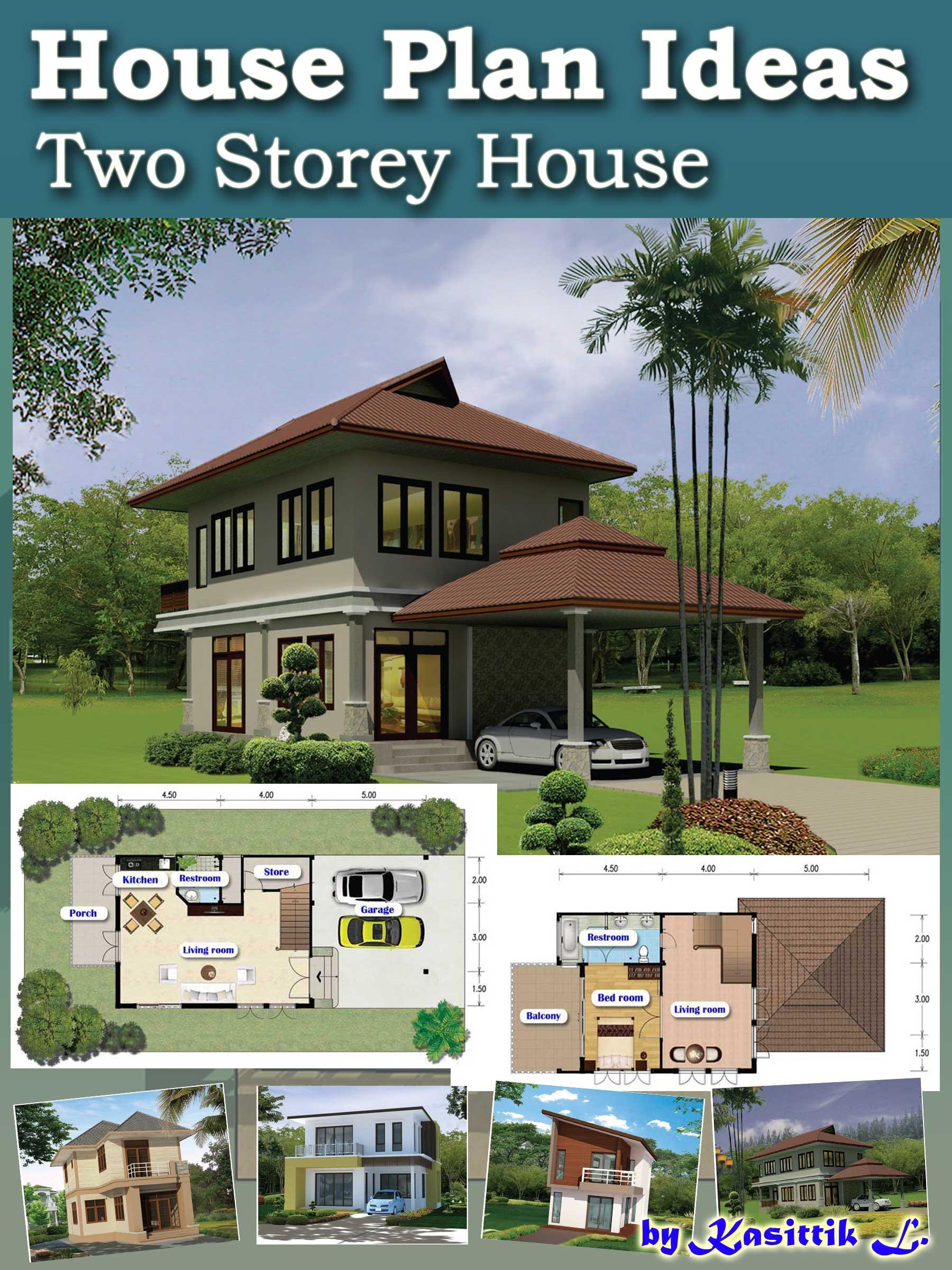 smashwords u2013 house plan ideas two storey house u2013 a book by