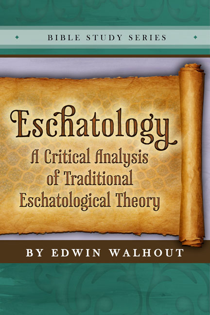 an analysis of eschatology Eschatology (from the greek έσχατος, last, ultimate, end and logy, teaching), simply translated as discourse about the last things, generally reflects the the driving force of seeking answers to such a twofold human purpose is confirmed by the two major themes of eschatological inquiry, namely, life.