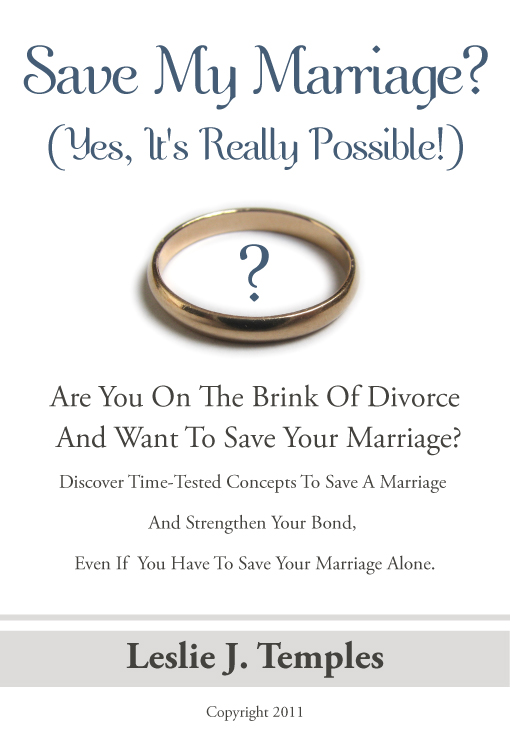 want to save my marriage
