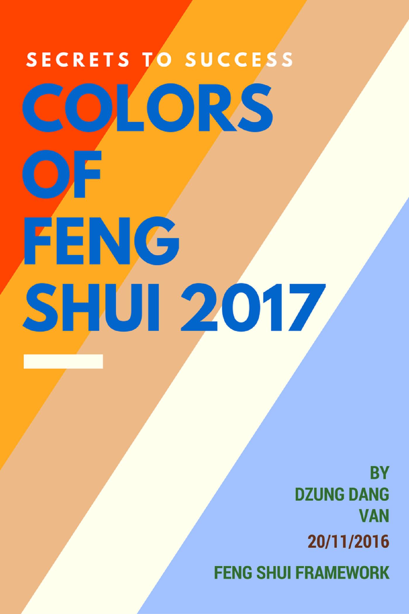 smashwords secrets to success colors of feng shui 2017 a book