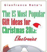 Gianfranco Rota - The 15 Most Popular Gift Ideas for Christmas 2013: Electronics