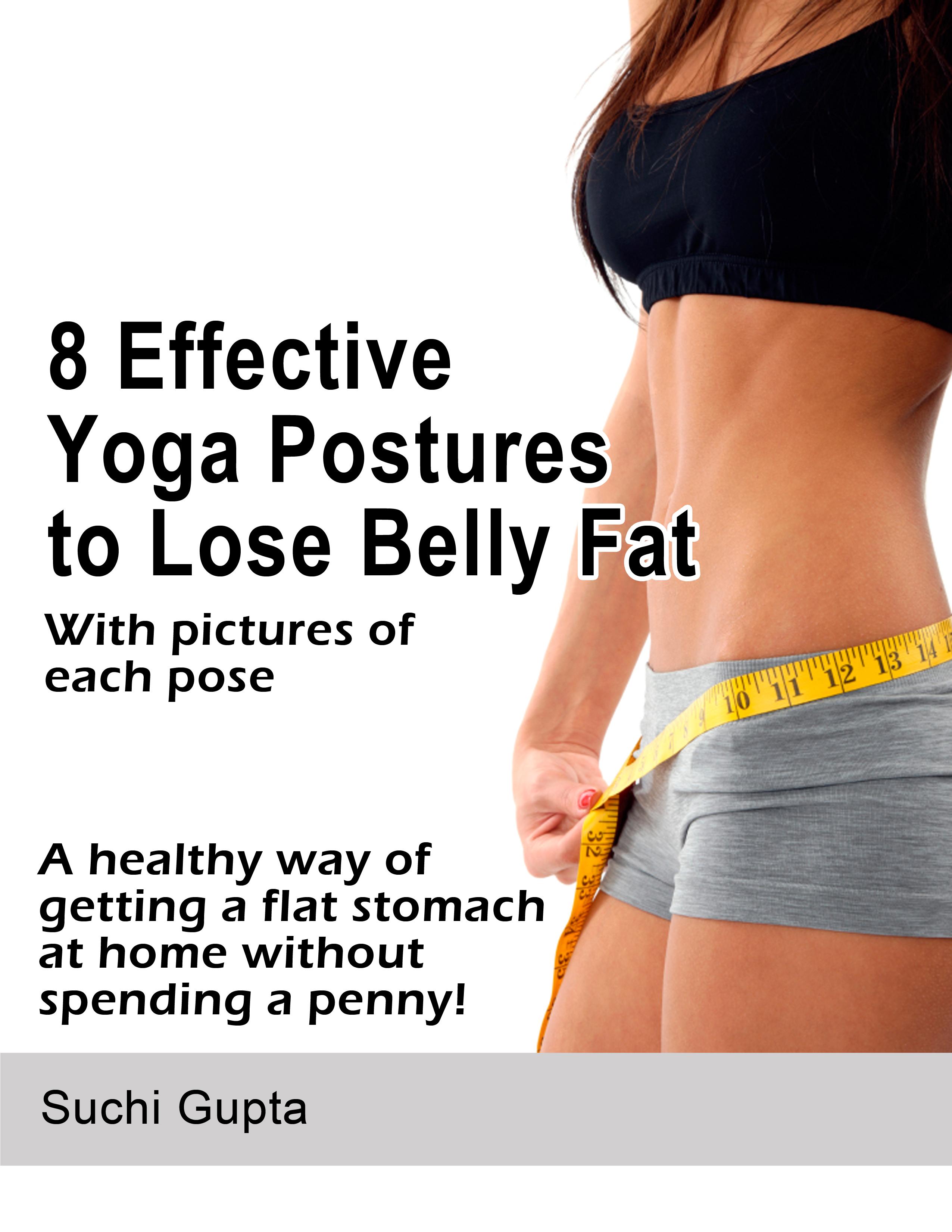 smashwords 8 effective yoga postures to lose belly fat
