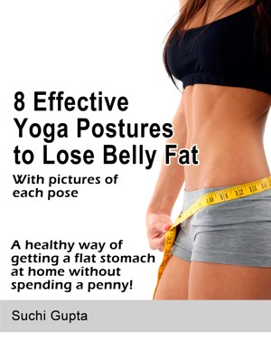 smashwords  8 effective yoga postures to lose belly fat