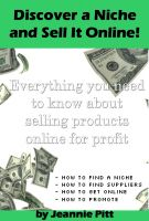 Jeannie Pitt - Discover a Niche and Sell It Online