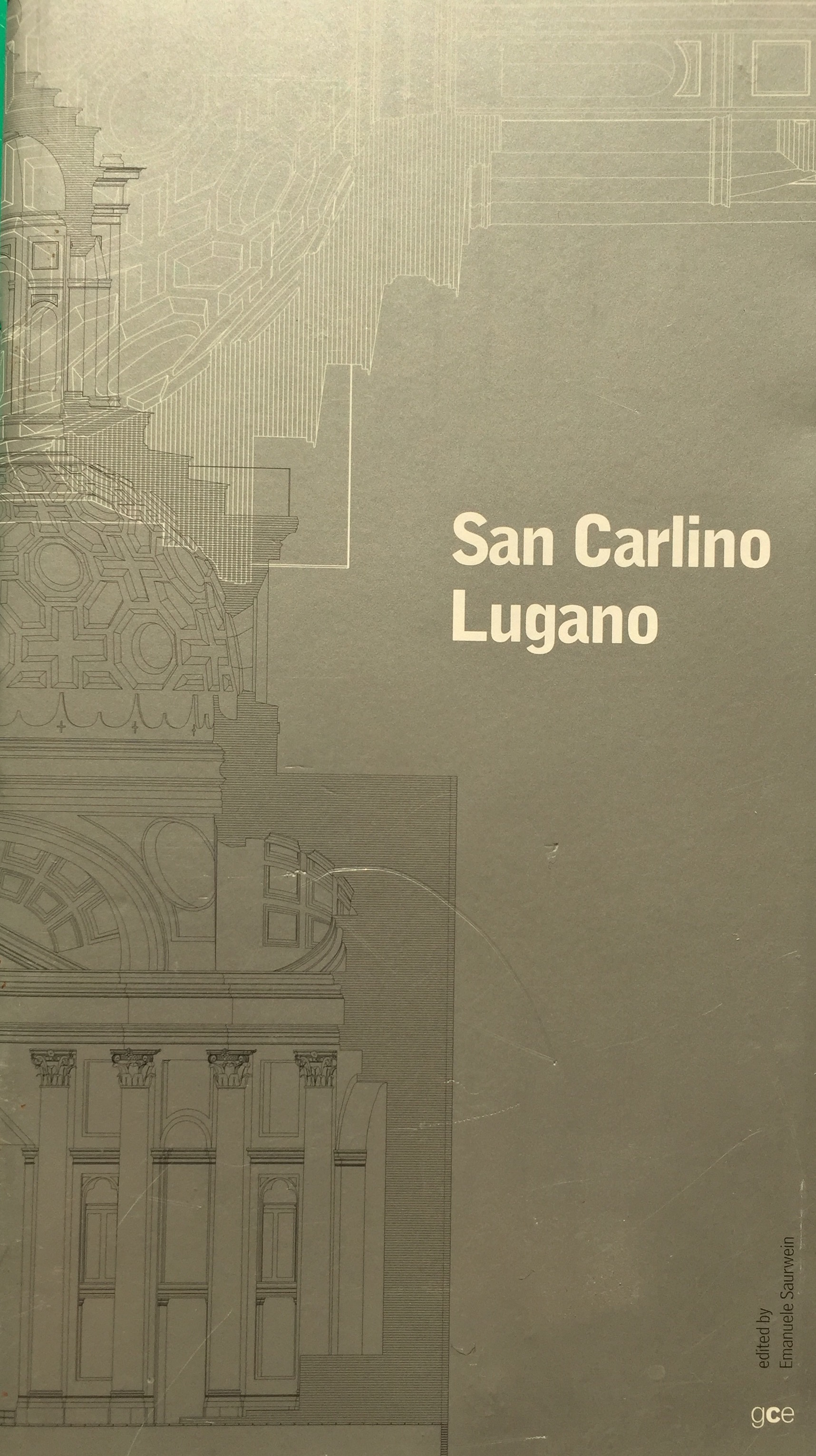 My inky cloak. Notes on the wooden model of the San Carlino in Lugano by Mario Botta