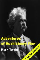 BookCaps - Adventures of Huckleberry Finn: Teacher Lesson Plans and Study Guide