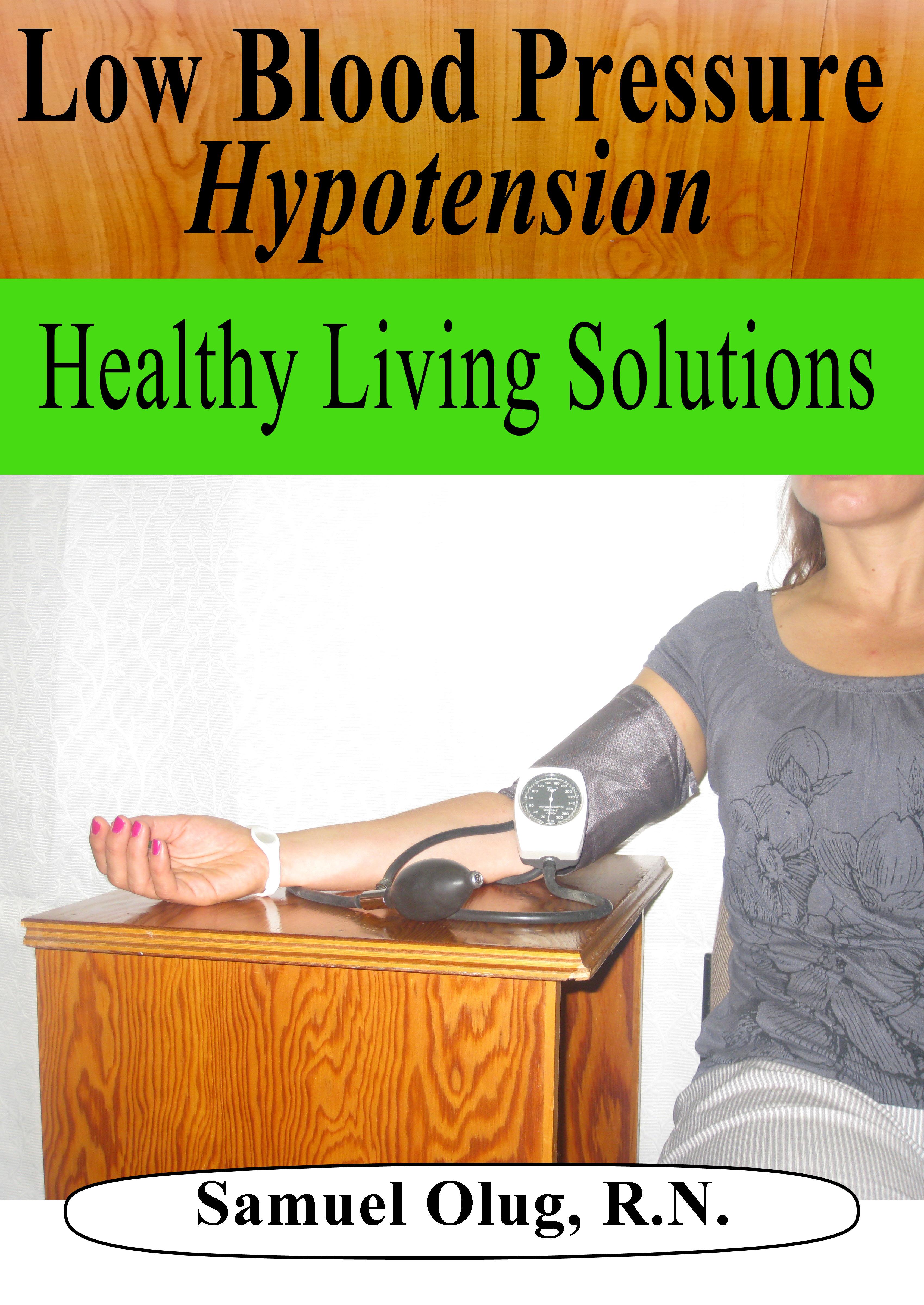 Smashwords Low Blood Pressure Hypotension A Book By Samuel Olug