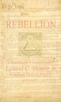 Cover for 'REBELLION; a Common Sense Application to America'