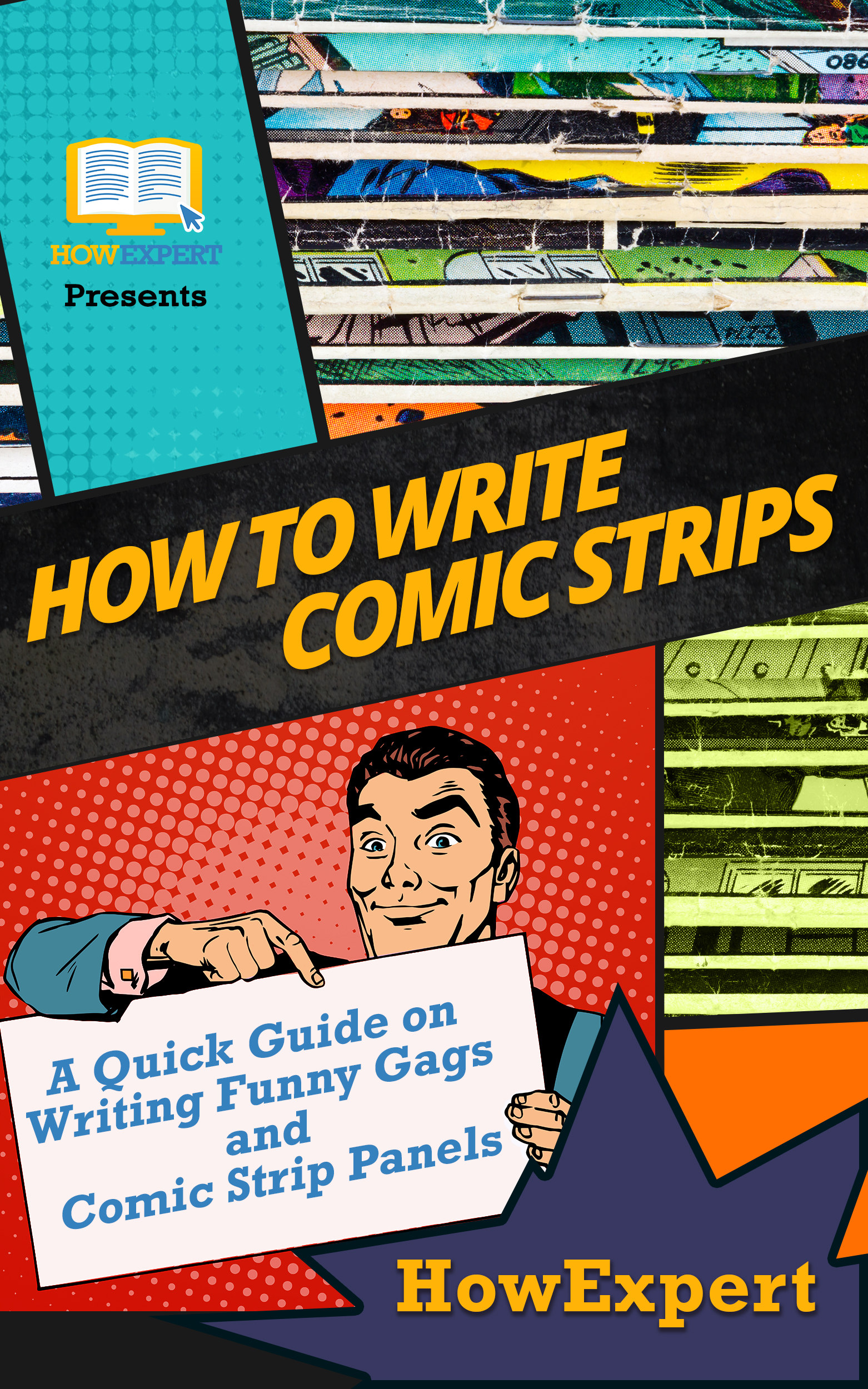 Smashwords – How to Write Comic Strips: A Quick Guide on