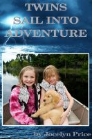 Cover for 'Twins Sail Into Adventure'