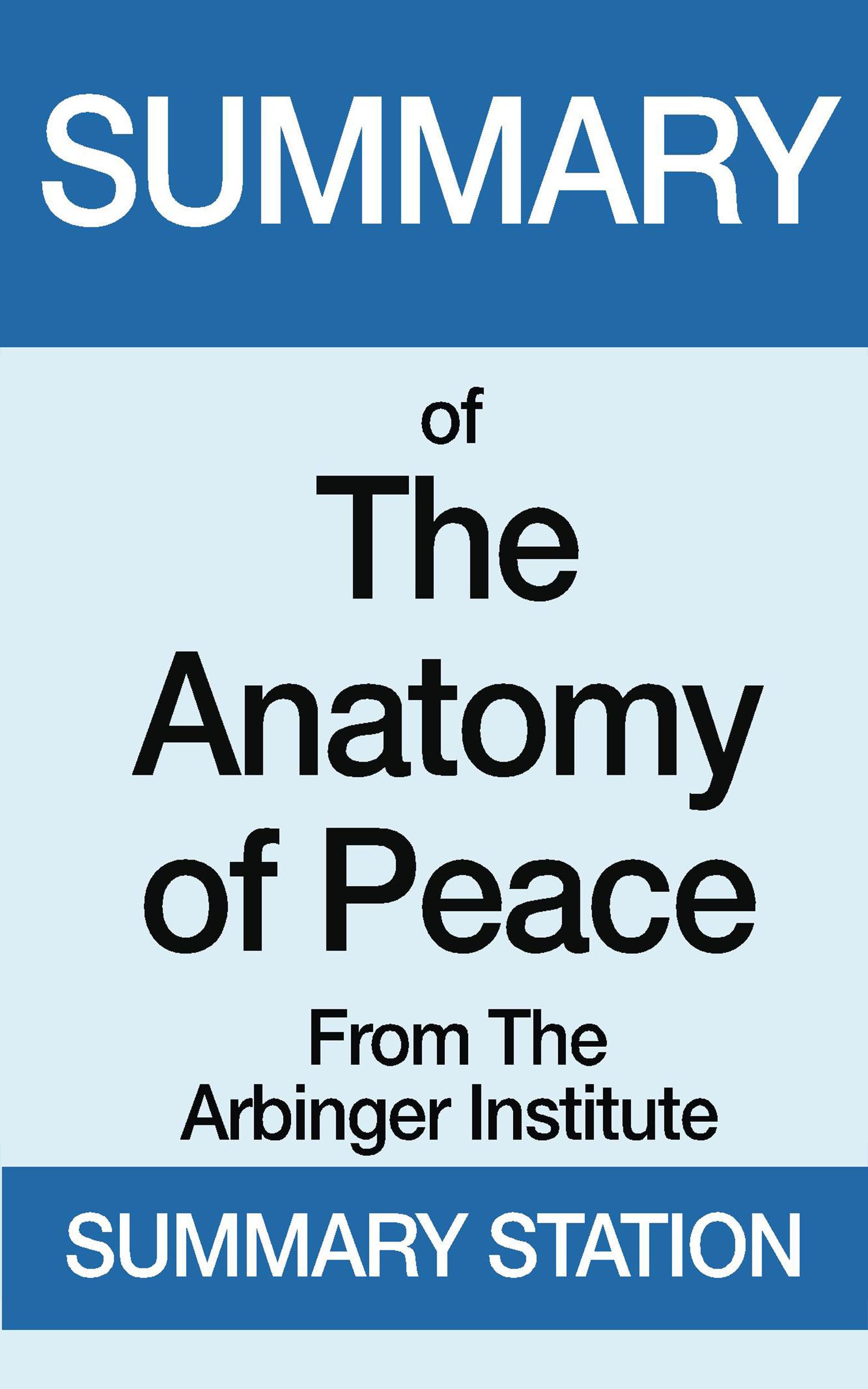 Smashwords – The Anatomy of Peace | Summary – a book by Summary Station