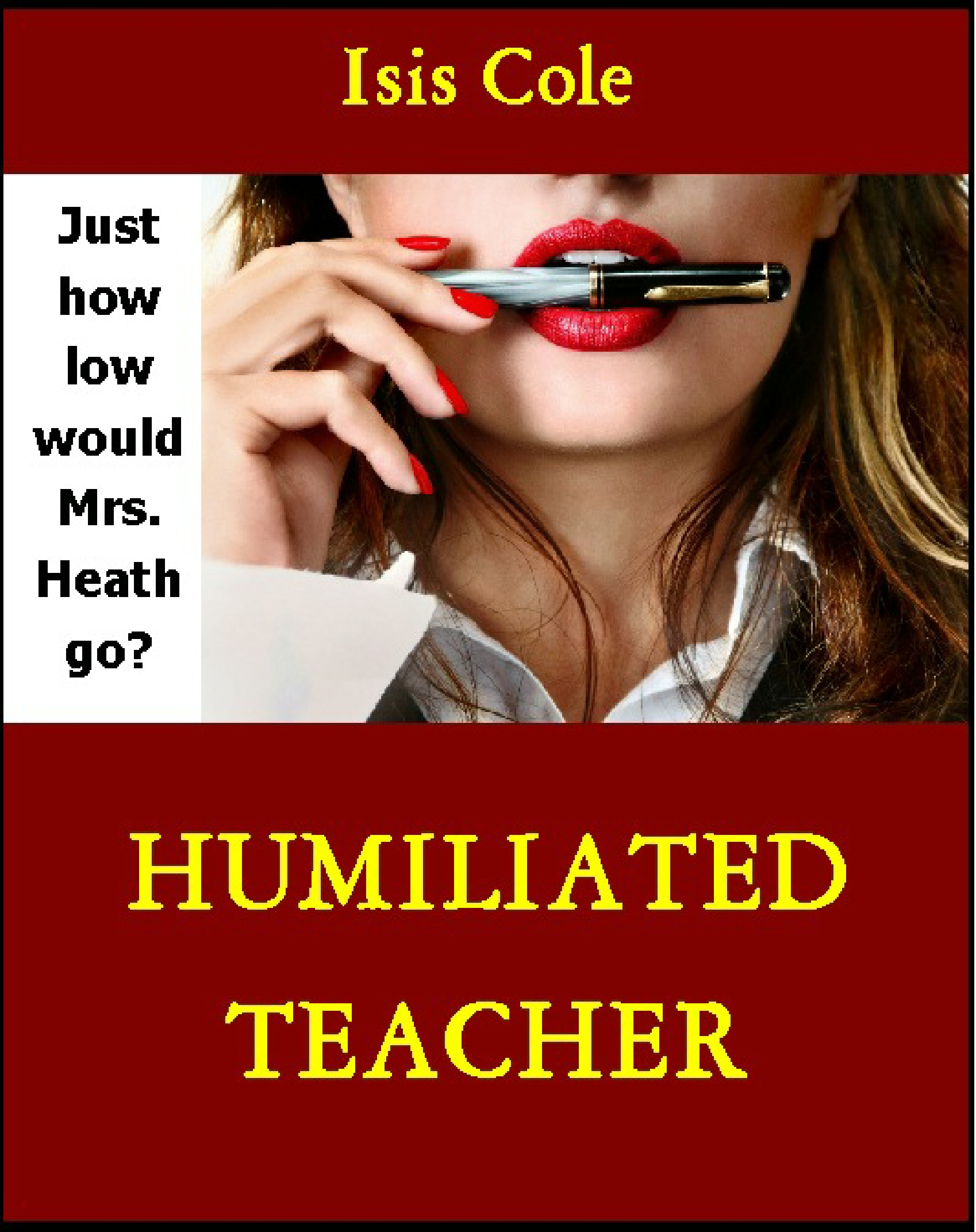 Humiliated Teacher