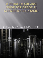 A Problem Solving Guide for Stoichiometry: From Quantities in Chemical  Reactions (Strand D of the Ontario SCH3U Curriculum), an Ebook by G Bradley