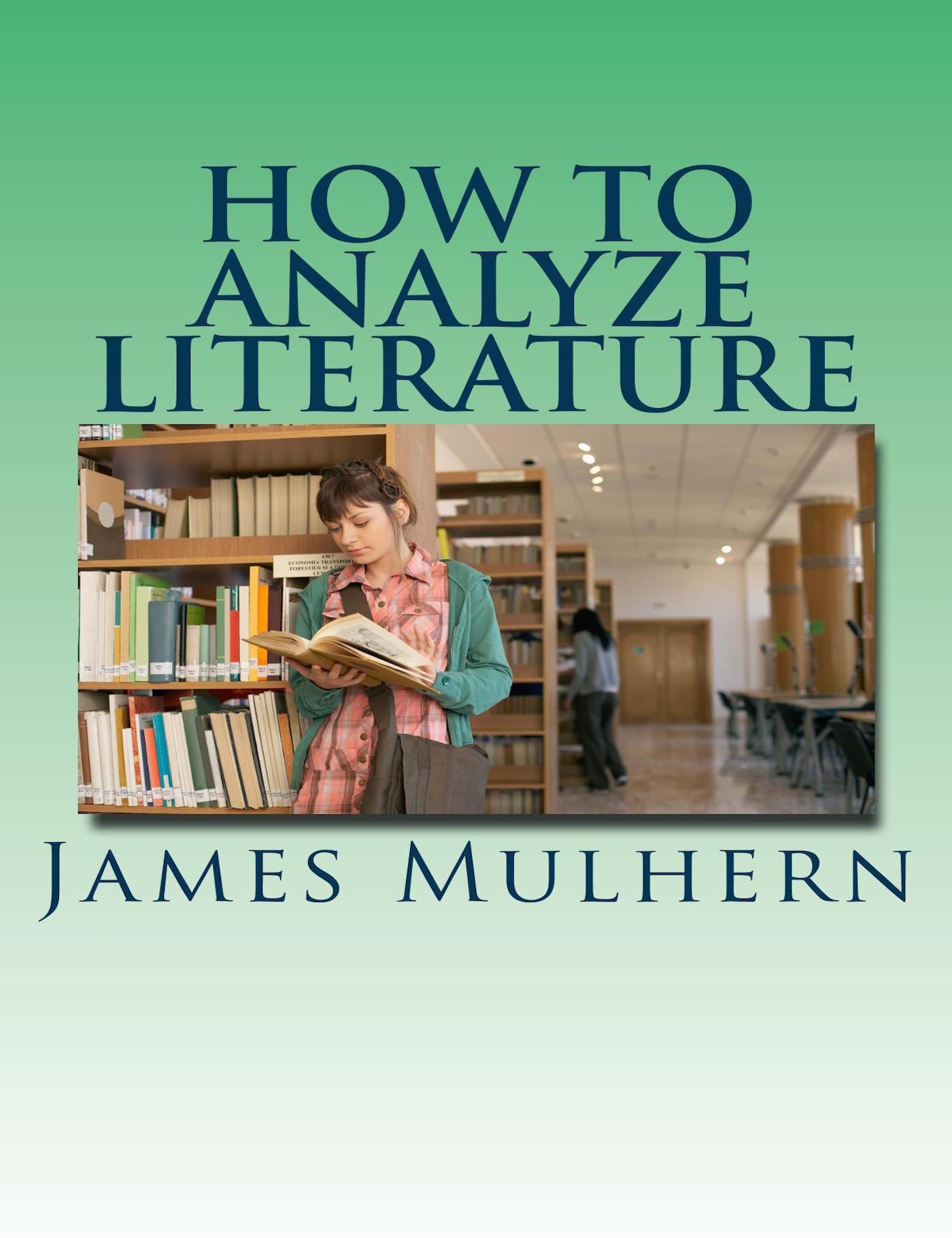 how do you analyze literature