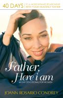 Cover for 'Father, Here I Am'