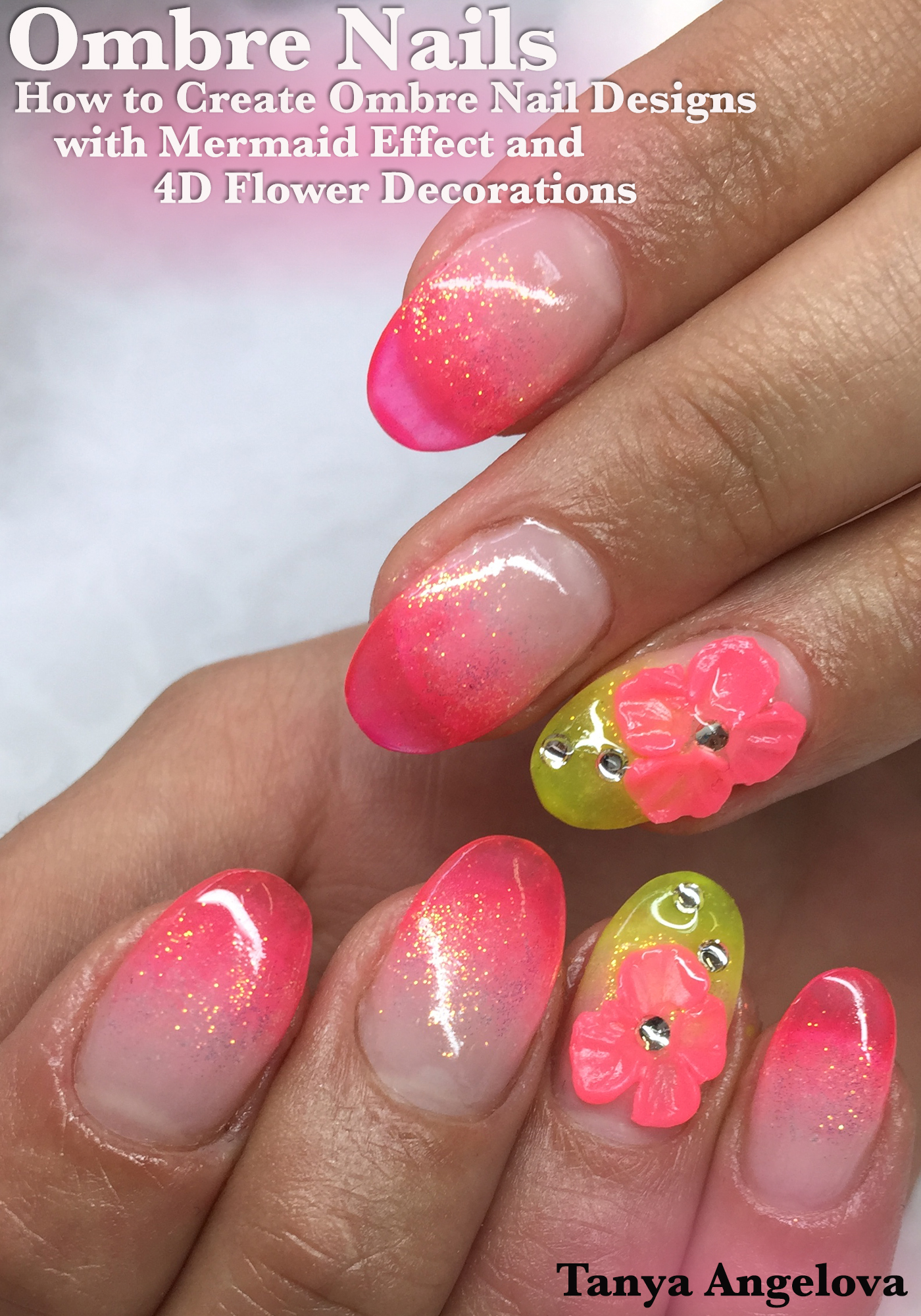Smashwords Ombre Nails How To Create Ombre Nail Designs With