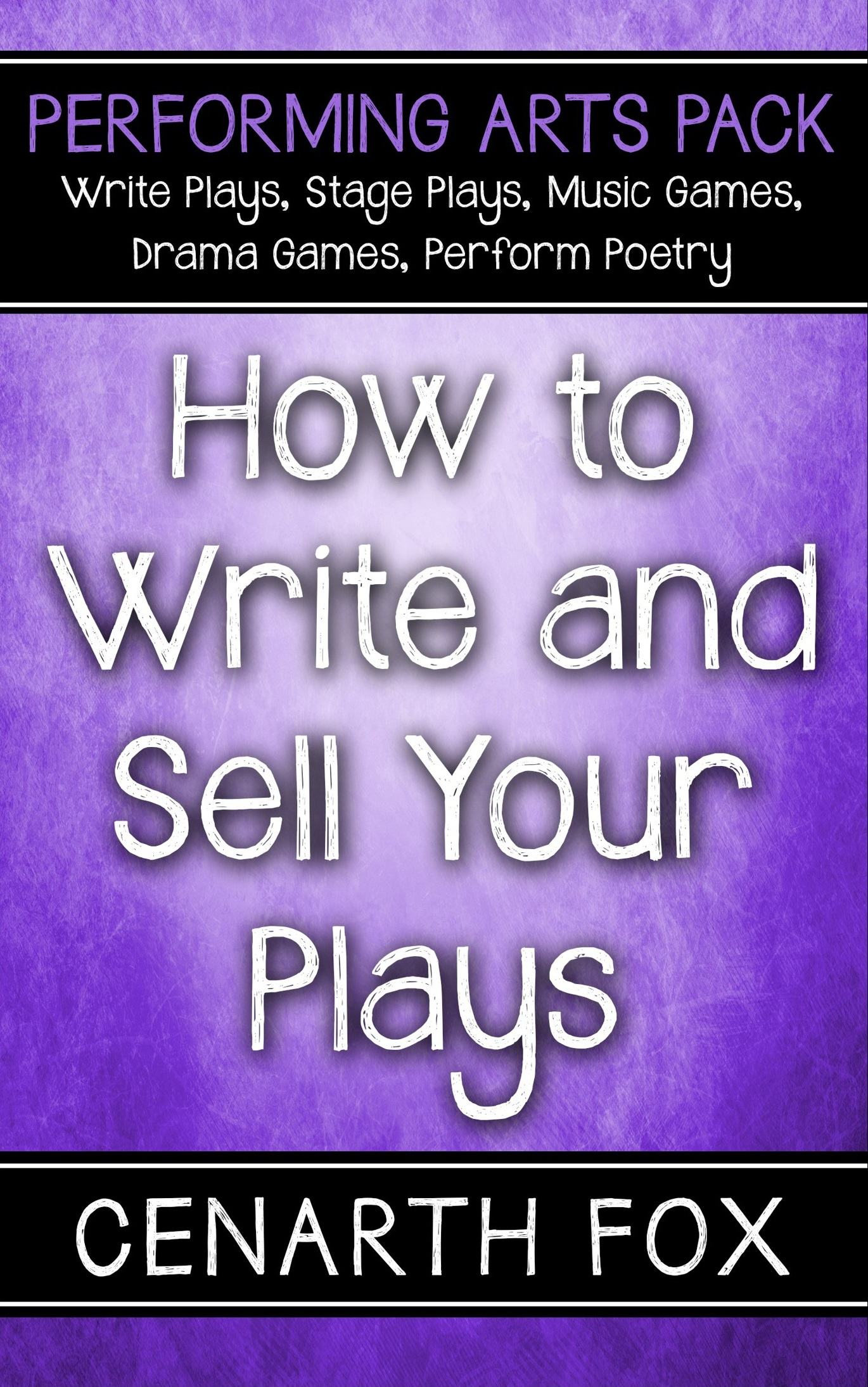 how to write a play format