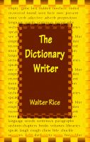 Cover for 'The Dictionary Writer'