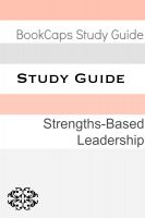 BookCaps - Study Guide: Strengths-Based Leadership (A BookCaps Study Guide)