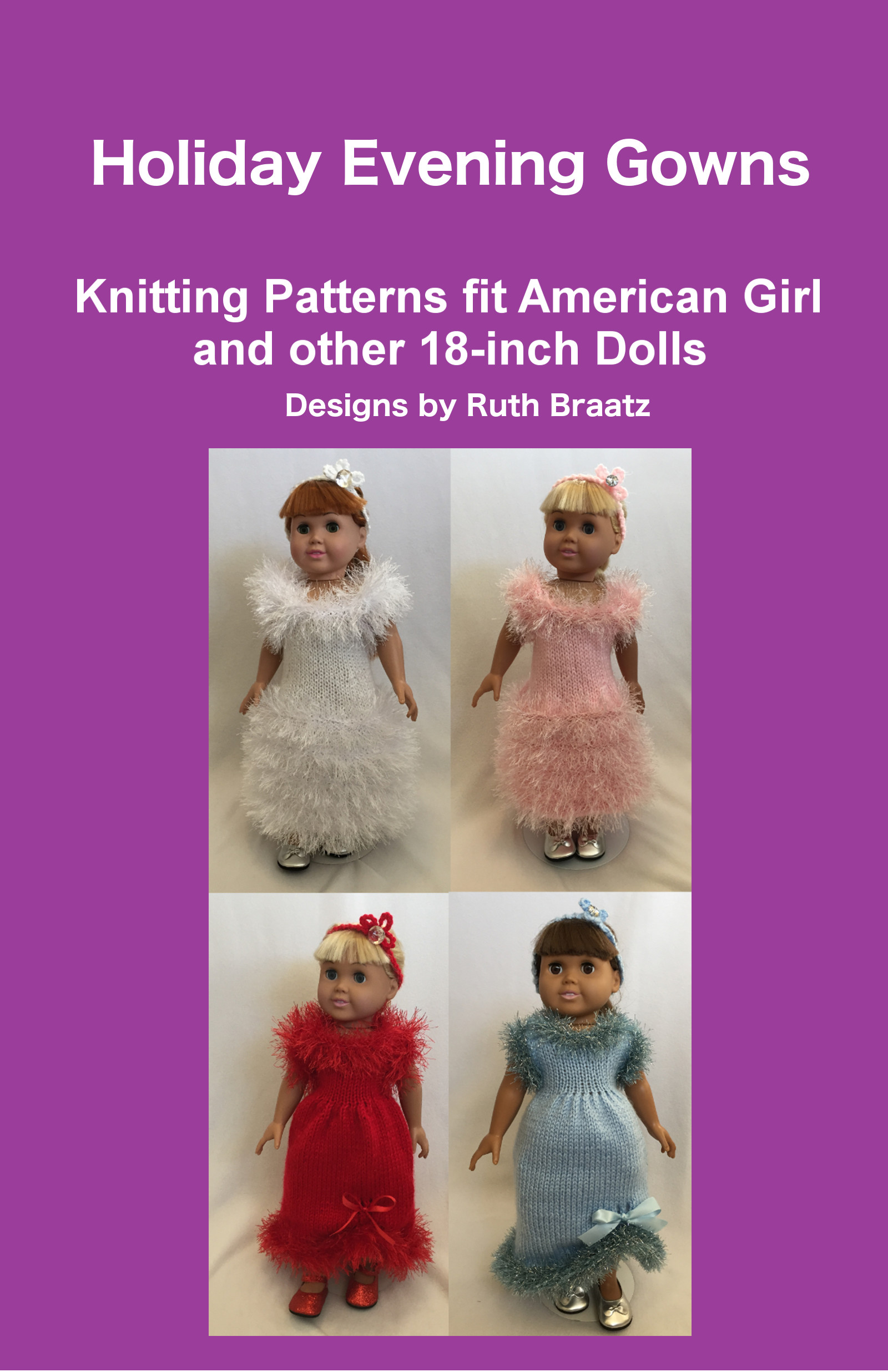 Smashwords – Holiday Evening Gowns, Patterns fit American Girl and ...