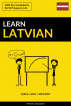 Learn Latvian - Quick / Easy / Efficient: 2000 Key Vocabularies: 2000 Key Vocabularies by Pinhok Languages