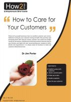 Dr Jim Porter - How to Care for Your Customers