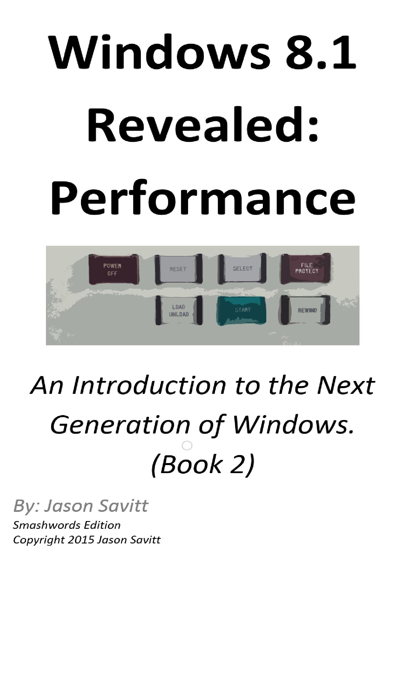 check computer performance windows 8.1