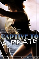 Lilith T. Bell - Captive to a Pirate (BBW Paranormal Romance)