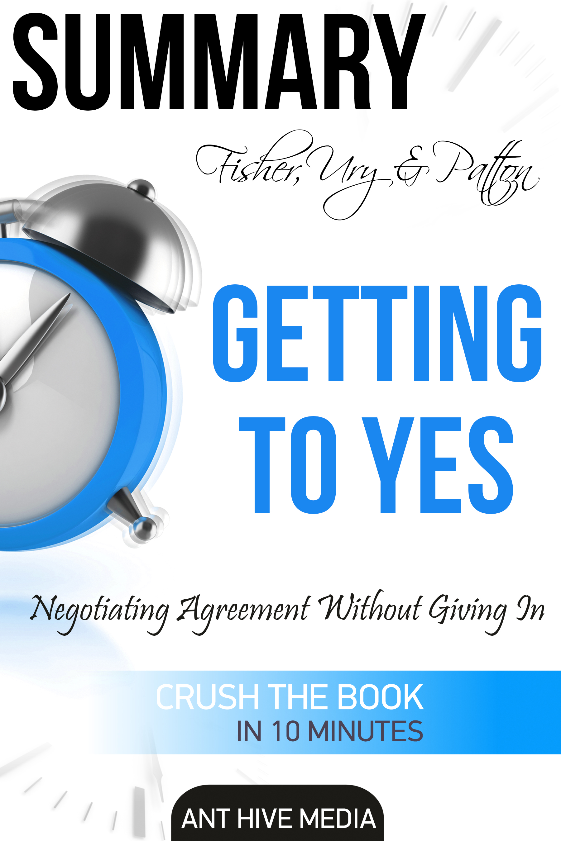 Smashwords Fisher Ury Pattons Getting To Yes Negotiating