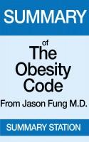 Summary Station - The Obesity Code | Summary