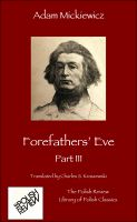 Cover for 'Forefathers' Eve, Part III'