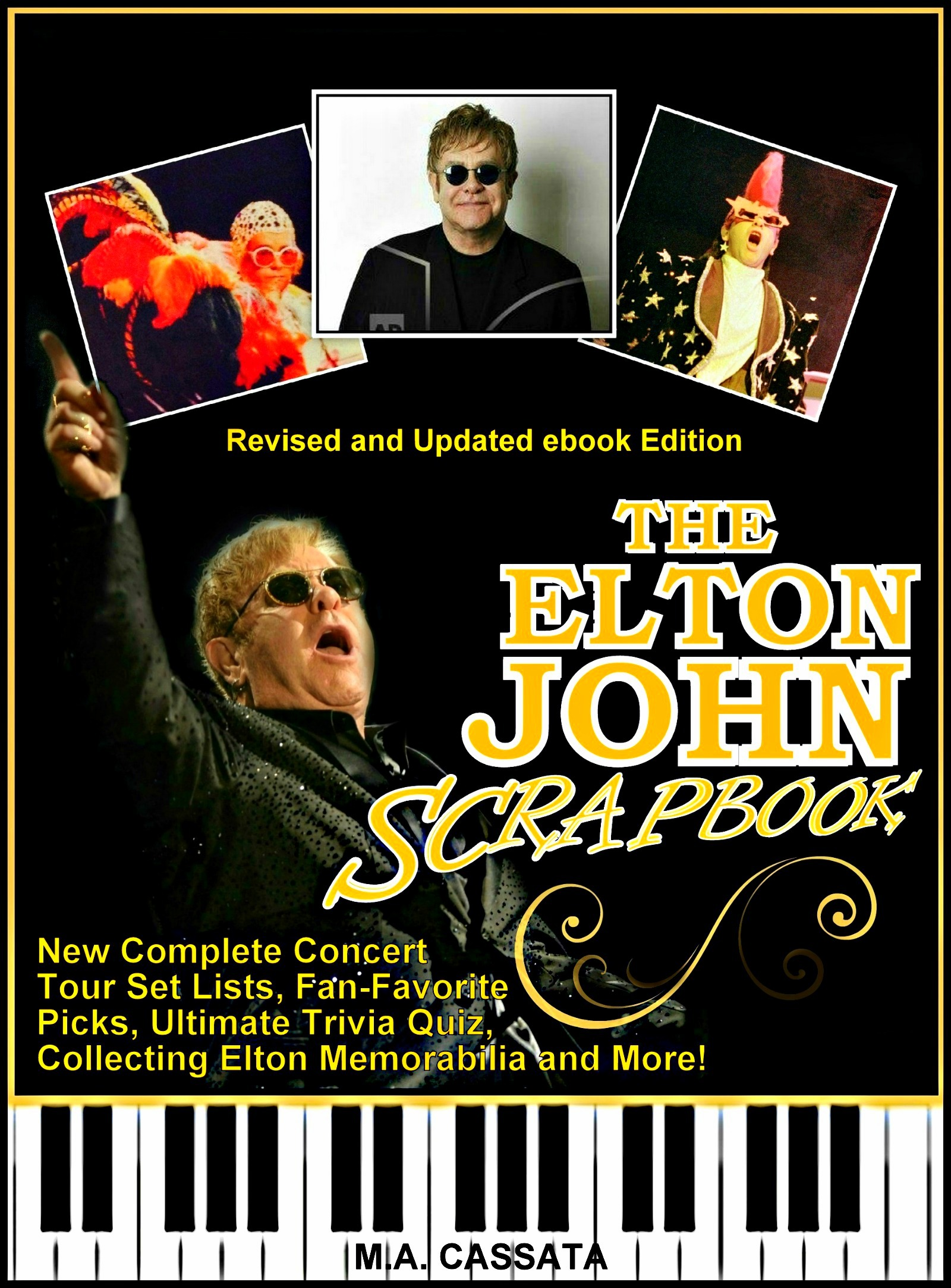 The Elton John Scrapbook: Revised And Updated Ebook Edition