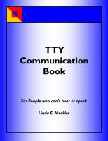 Linda Meckler - A TTY Communication Book